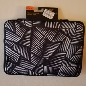 Dabney Lee Black & White Laptop/Tablet Case